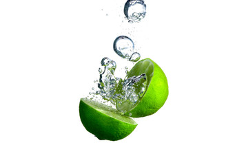 Lime and bubble