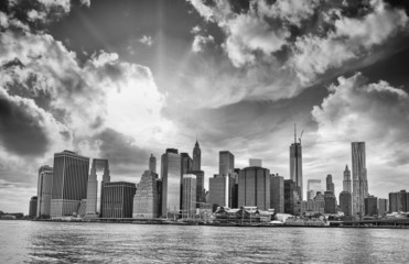 Wall Mural - New York. Manhattan skyline and city buildings
