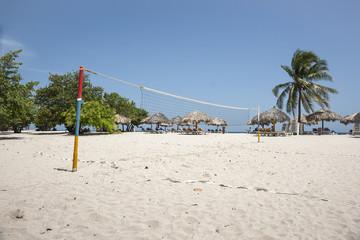 Tropical beach resort, Trinidad, Cuba.