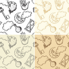 Seamless alchemy patterns