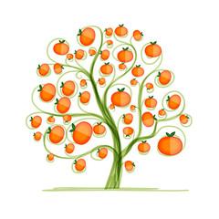 Mandarin tree for your design