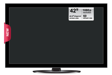 lcd, tv, 42 inches
