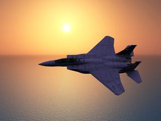 Modernes Kampfflugzeug