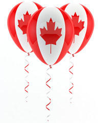 Canadian balloons - flag