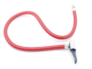 bicycle hose on a white background
