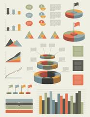 Infographic flat elements.
