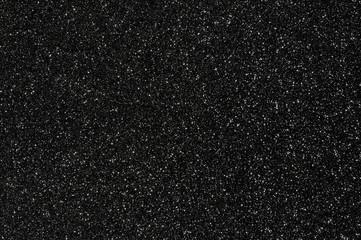 black glitter texture background