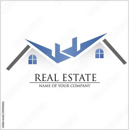 Logo Immobilien Haus Stock Image And Royalty Free Vector Files On
