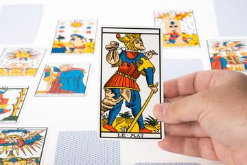 Draw tarot : The Fool