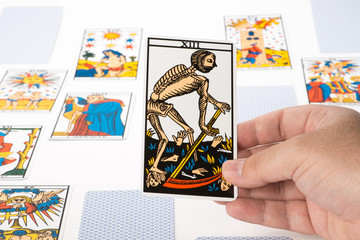 Draw tarot : The Death