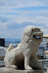 亀山八幡宮の狛犬