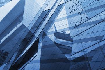 Glass of modern tower Fotomurales