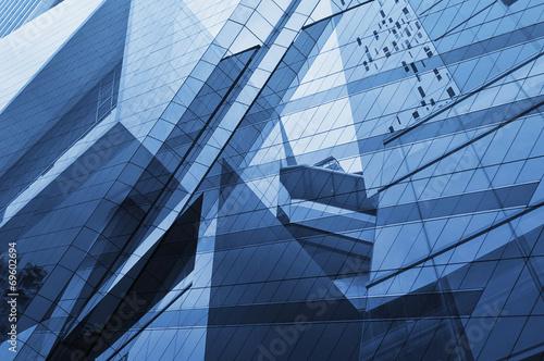 Fototapete Glass of modern tower