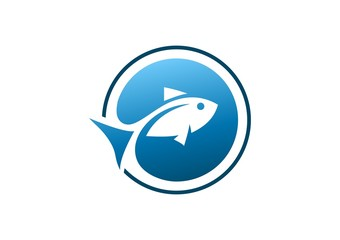 fish, logo, globe, swimming, creative, water, icon, symbol