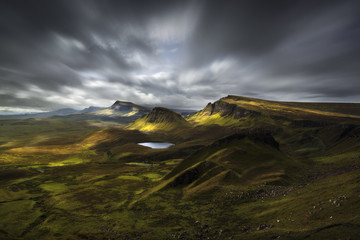 Quiraing view, Scotland Wall mural