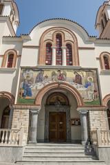 Orthodoxe Kirche Aghia Triada in Aghios Nikolaos, Kreta, Griechenland