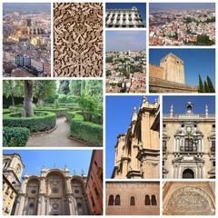 Granada collection - photo memories collage