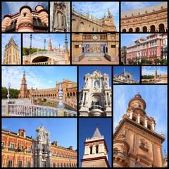 Seville, Spain - photo memories collage