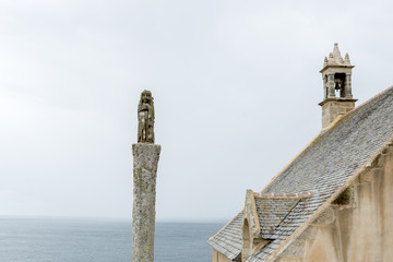 Chapel of Saint They, Pointe du Van (France)