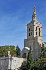 Avignone, piazza del Palazzo - Notre Dame des Domes