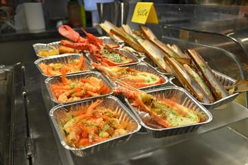 shellfish tapas