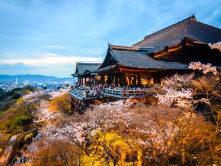 Türaufkleber Kyoto Kiyomizu-dera Temple in Kyoto