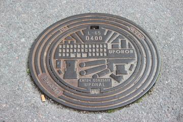Kanaldeckel Norrköping