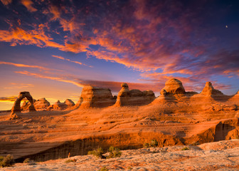 Delicate Arch Wall mural