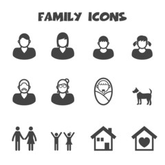family icons