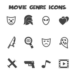 movie genre icons