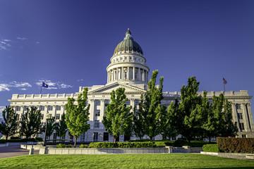 Fototapete - View of the Capital in Utah