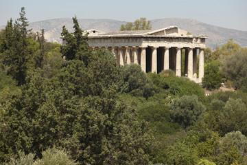 Temple of Ephesto in Athens. Greece