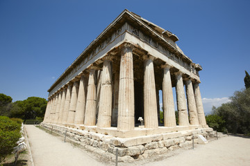 Temple of Ephesto in Athens. Greece