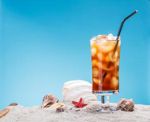 Still life of ice tea