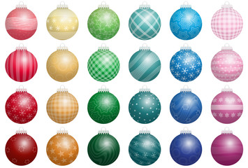 Christmas Tree Balls Colors