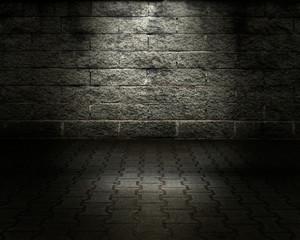 Brick Wall Urban Stage