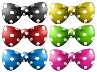 Polkadot bow tie