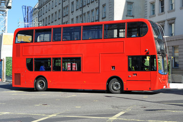 Foto op Plexiglas Londen rode bus Red London Bus