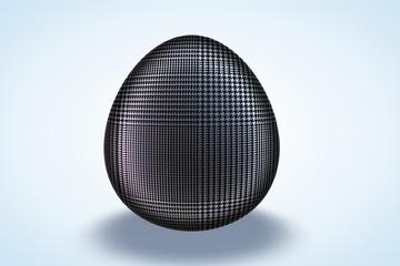 Sky Fall Plaid Pattern Egg