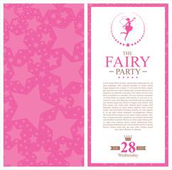 princess invitation card design