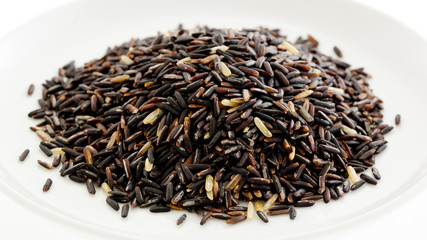 Thai black jasmine rice (Rice berry)