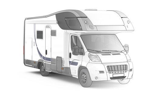 Camper II (Zeichnung)