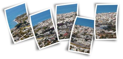 ville de Saint-Denis sur photos, île de la Réunion