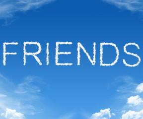 Friends - word cloud