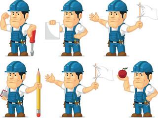Strong Technician Mascot 8