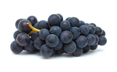 black grapes isolated Fototapete