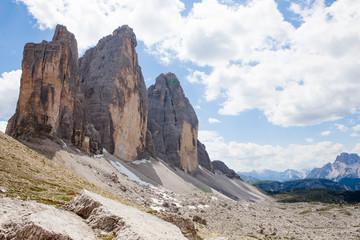 tre cime di Lavaredo (Dolomiti)