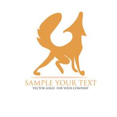 Fuks, Wolf, Hund Logo
