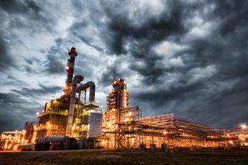 Fotobehang Industrial geb. refinery