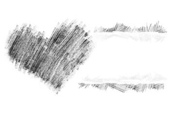 Heart pancil 42